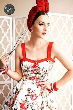 d4f2a9e05dfc vintage ultimate retro φόρεμα Coleen
