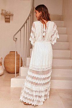 7f643cba38e bohemian luxe romantic bridal φόρεμα Astrid ...