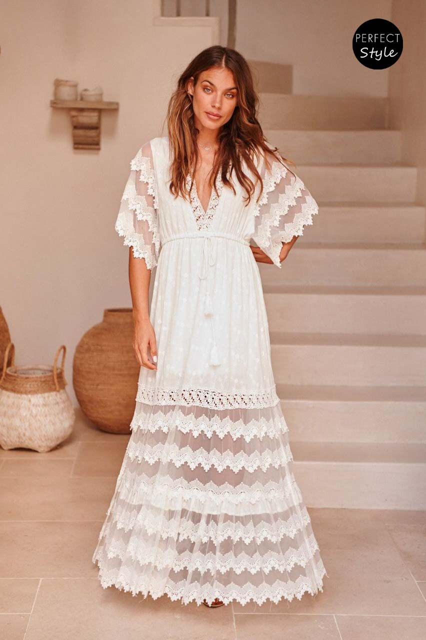 87f39226b98 bohemian luxe romantic bridal φόρεμα Astrid