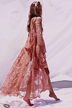 d7189ea995e bohemian luxe crochet kimono δαντέλα Phoenix ...