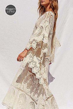 5f2f42a9325 ... romantic bridal φόρεμα Astrid. 105,00 €. Στη wishlist · ultimate bohemian  luxe crochet φόρεμα Indira cream ultimate bohemian luxe crochet φόρεμα  Indira ...