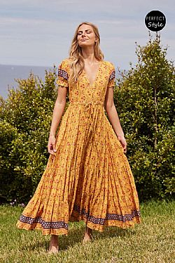 bohemian chic romantic φόρεμα robe Helios