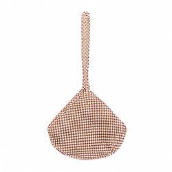 3bea25d9cd vintage mini 20s pouch τσαντάκι σε diamante ροζ gold