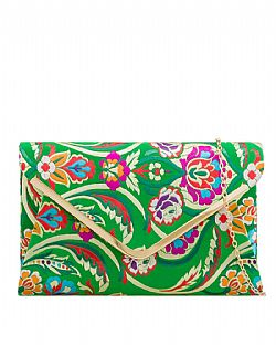 8183319f85 oriental chic φάκελος Geisha πράσινο