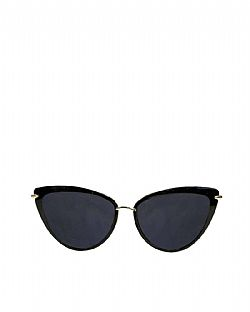 vintage Dita cat eye sunnies black