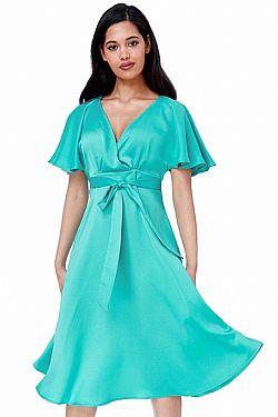 4c267e1834d silk feel matte σατέν φόρεμα waterfall silk feel matte σατέν φόρεμα  waterfall