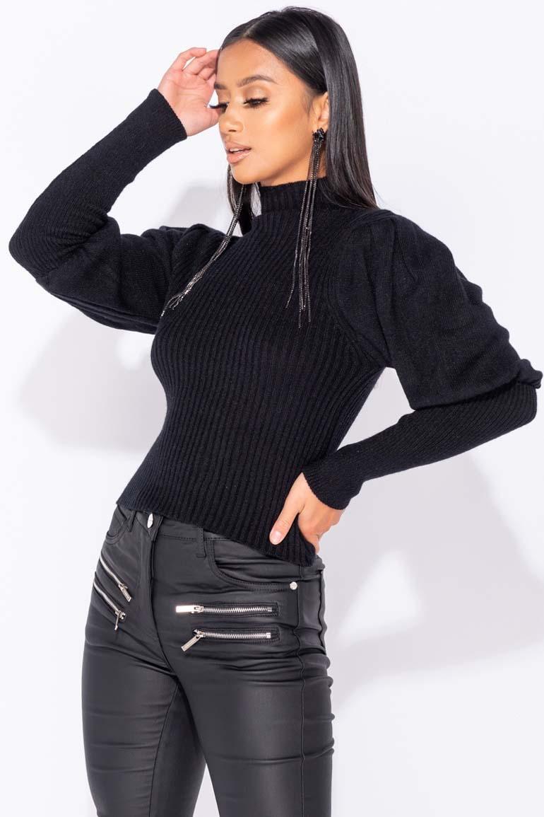 blogger matte leatherette παντελόνι push up