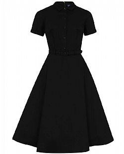 ultimate vintage φόρεμα shirt dress black