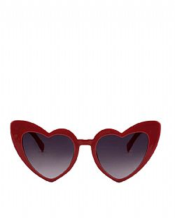 vintage γυαλιά red heart pin up shades