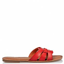 must have braid red sandals