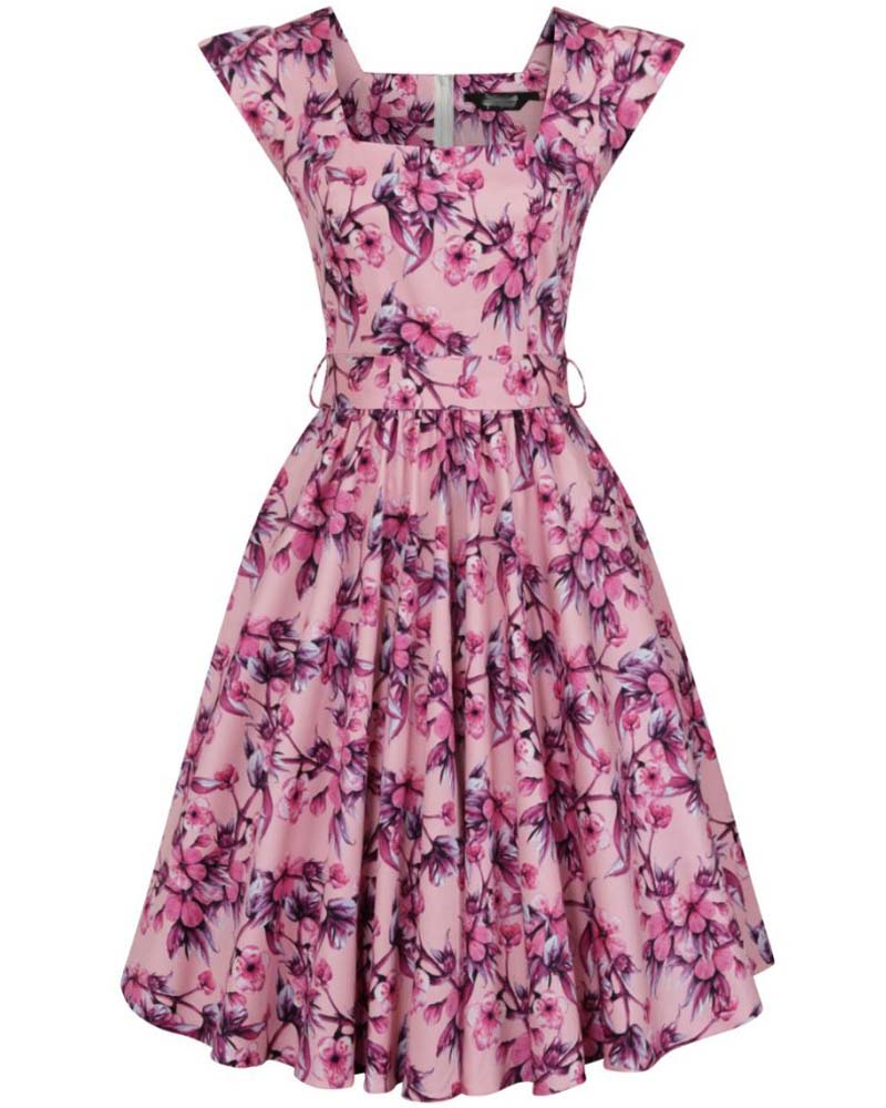 vintage 50s φόρεμα romantic english Porcelain 2