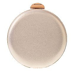τσαντάκι round clutch Ivy gold