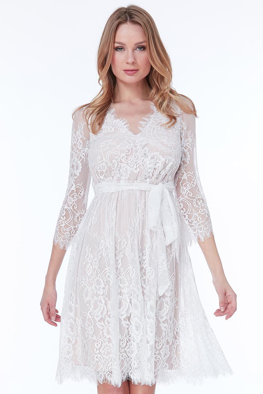 bridal romantic fine lace φόρεμα Dorothea