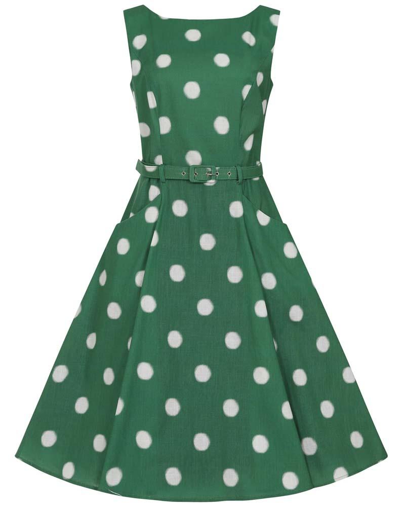 vintage 50s Park Life φόρεμα