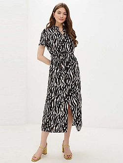everyday shirt dress Simply animal print Vero Moda